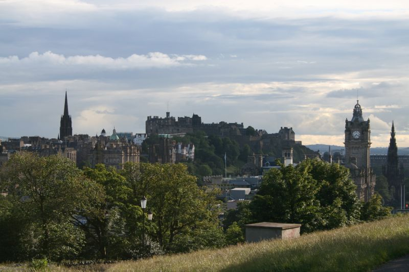 Castle from Calton Hill