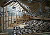 [Scottish Parliament debating chamber]