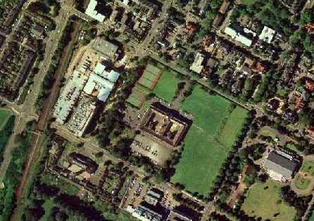 Aerial photo of Regent College