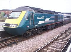 Midland Mainline high speed train, courtesy of Flickr user BRail RailFreight Ltd