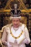 The Queen at the 2008 State Opening; from UK Parliament on Flickr, Attribution-NonCommercial-NoDerivs 2.0 licence