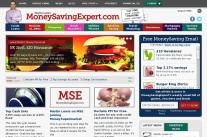 MoneySavingExpert.com homepage