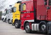 Truck Stop at M25 J23 South Mimms, October 2009. Photo by the Highways Agency, Creative Commons Attribution licence.