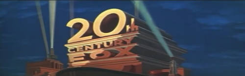 20th Century Fox logo - click to play Star Wars opening on Youtube
