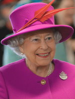 The Queen in March 2015. Licensed under the Open Government Licence v3.0