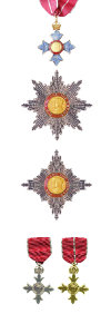 Order of the British Empire Insignia, by Robert Prummel (CC licence)