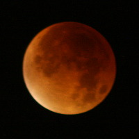 A lunar eclipse in September 2015
