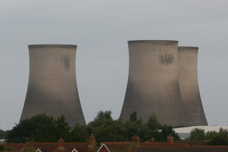 Didcot Power Station cooling tower demolition 1