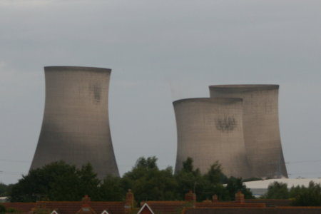 Didcot Power Station cooling tower demolition 2