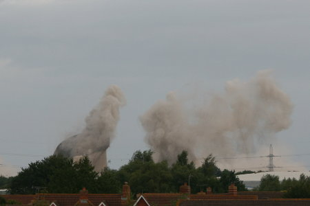 Didcot Power Station cooling tower demolition 5