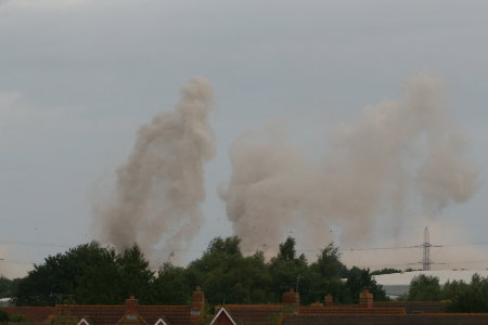 Didcot Power Station cooling tower demolition 6
