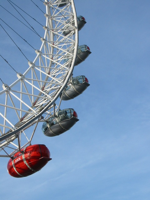 London Eye's red nose